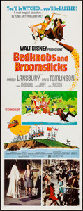 """Movie Posters:Animation, Bedknobs and Broomsticks (Buena Vista, 1971). Insert (14"""" X 36"""").Animation.. ..."""