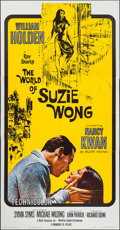 """Movie Posters:Romance, The World of Suzie Wong & Other Lot (Paramount, 1960). Three Sheet (41"""" X 79""""), Australian Daybill (13.25"""" X 30""""), & One She... (Total: 3 Items)"""