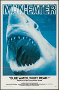 "Movie Posters:Documentary, Blue Water, White Death (National General, 1971). One Sheet (27"" X 41""). Documentary.. ..."