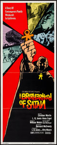 "Movie Posters:Horror, The Brotherhood of Satan (Columbia, 1971). Insert (14"" X 36""). Horror.. ..."
