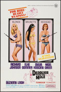 "Movie Posters:Bad Girl, Deadlier Than the Male (Universal, 1967). One Sheet (27"" X 41"").Bad Girl.. ..."