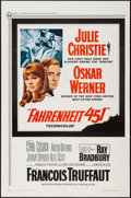 "Movie Posters:Science Fiction, Fahrenheit 451 (Universal, 1967). One Sheet (27"" X 41""). ScienceFiction.. ..."