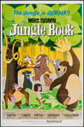 """Movie Posters:Animation, The Jungle Book (Buena Vista, 1967). One Sheet (27"""" X 41""""). Animation.. ..."""