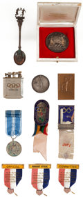 Miscellaneous Collectibles:General, 1936-76 Olympics Official's Badges, Coins and More (11)....