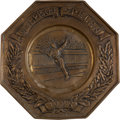 Miscellaneous Collectibles:General, 1928 Amsterdam Summer Olympics Tennis Tin....