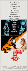 "Movie Posters:Science Fiction, The Omega Man (Warner Brothers, 1971). Insert (14"" X 36""). ScienceFiction.. ..."