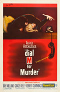 """Movie Posters:Hitchcock, Dial M for Murder (Warner Brothers, 1954). Autographed One Sheet(27"""" X 41"""").. ..."""