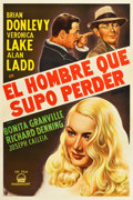 "Movie Posters:Film Noir, The Glass Key (Paramount, 1942). Argentinean Poster (29"" X43.75"").. ..."