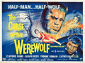 "Movie Posters:Horror, Curse of the Werewolf (Universal International, 1961). British Quad(30"" X 40"").. ..."