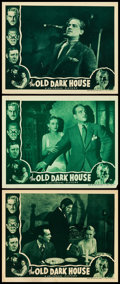 """Movie Posters:Horror, The Old Dark House (Universal, R-1939). Lobby Cards (3) (11"""" X 14"""").. ... (Total: 3 Items)"""