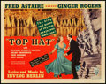 "Movie Posters:Musical, Top Hat (RKO, 1935). Title Lobby Card (11"" X 14"").. ..."