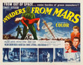 "Movie Posters:Science Fiction, Invaders from Mars (20th Century Fox, 1953). Half Sheet (22"" X28"").. ..."