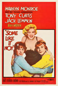 """Movie Posters:Comedy, Some Like It Hot (United Artists, 1959). One Sheet (27.5"""" X40.75"""").. ..."""