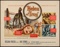 "Movie Posters:Adventure, Helen of Troy (Warner Brothers, 1956). Half Sheet (22"" X 28"").Adventure.. ..."