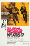"""Movie Posters:Western, Butch Cassidy and the Sundance Kid (20th Century Fox, 1969). OneSheet (27"""" X 41"""") Style B.. ..."""