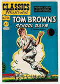 Golden Age (1938-1955):Classics Illustrated, Classics Illustrated #45 Tom Brown's School Days - Original Edition(Gilberton, 1948) Condition: VF-....
