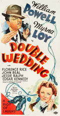 "Movie Posters:Comedy, Double Wedding (MGM, 1937). Three Sheet (41"" X 81"") Style B.. ..."