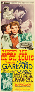 """Movie Posters:Musical, Meet Me in St. Louis (MGM, 1944). Insert (14"""" X 36"""").. ..."""