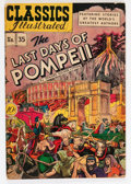 Golden Age (1938-1955):Classics Illustrated, Classics Illustrated #35 The Last Days of Pompeii - OriginalEdition- Double Cover (Gilberton, 1947) Condition: VG/FN....