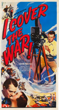 "Movie Posters:Action, I Cover the War (Universal, 1937). Three Sheet (41.5"" X 81"").. ..."