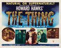 """Movie Posters:Science Fiction, The Thing from Another World (RKO, 1951). Half Sheet (22"""" X 28"""")Style A.. ..."""
