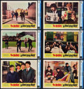 "Movie Posters:Rock and Roll, A Hard Day's Night (United Artists, 1964). CGC Graded Lobby Cards(6) (11"" X 14"").. ... (Total: 6 Items)"
