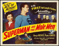 "Movie Posters:Action, Superman and the Mole Men (Lippert, 1951). Title Lobby Card (11"" X 14"").. ..."