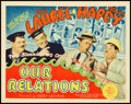 "Movie Posters:Comedy, Our Relations (MGM, 1936). Title Lobby Card (11"" X 14"").. ..."
