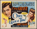 "Movie Posters:Comedy, Once Upon a Time (Columbia, 1944). Half Sheet (22"" X 28"") Style A.Comedy.. ..."