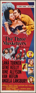 "Movie Posters:Swashbuckler, The Three Musketeers (MGM, R-1956). Insert (14"" X 36""). Swashbuckler.. ..."