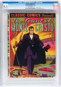 Golden Age (1938-1955):Classics Illustrated, Classic Comics #3 The Count of Monte Cristo - Original Edition(Gilberton, 1942) CGC VG+ 4.5 Off-white to white pages....