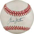 Autographs:Baseballs, Circa 1995 Frank Sinatra Single Signed Baseball....