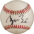 Autographs:Baseballs, 1990's George W. Bush Single Signed Baseball. ...