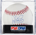Autographs:Baseballs, 2000's Albert Pujols Single Signed Baseball, PSA/DNA Gem Mint10....