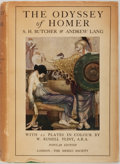 Books:Literature 1900-up, [W. Russell Flint, Illustrator]. S.H. Butcher and Andrew Lang,Translators. The Odyssey of Homer. London: The Medici...