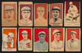 "Baseball Cards:Lots, 1920's Baseball ""W"" Strip Card Collection (10). ..."