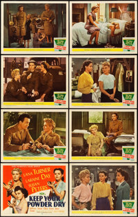 "Keep Your Powder Dry (MGM, 1945). Lobby Card Set of 8 (11"" X 14""). ... (Total: 8 Items)"