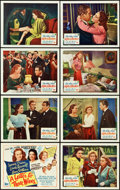"Movie Posters:Drama, A Letter to Three Wives (20th Century Fox, 1949). Lobby Card Set of8 (11"" X 14"").. ... (Total: 8 Items)"
