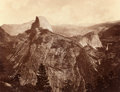 Photographs:Historical Photographs, EADWEARD MUYBRIDGE (British, 1830-1904). Falls of the Yosemite (Great Grizzly Bear, 2600 Feet), 1872. Albumen from wet c...