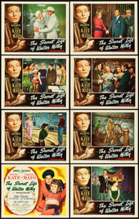 """The Secret Life of Walter Mitty (RKO, 1947). Lobby Card Set of 8 (11"""" X 14""""). ... (Total: 8 Items)"""
