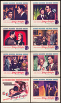 """Movie Posters:Hitchcock, Stage Fright (Warner Brothers, 1950). Lobby Card Set of 8 (11"""" X 14"""").. ... (Total: 8 Items)"""