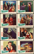 "Movie Posters:Horror, The Uninvited (Paramount, 1944). Lobby Card Set of 8 (11"" X 14"")..... (Total: 8 Items)"