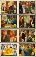 "Movie Posters:Drama, A Tree Grows in Brooklyn (20th Century Fox, 1945). Lobby Card Setof 8 (11"" X 14"").. ... (Total: 8 Items)"