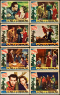 """Movie Posters:Drama, The Trail of the Lonesome Pine (Paramount, 1936). Lobby Cards (8)(11"""" X 14"""").. ... (Total: 8 Items)"""