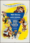 "Movie Posters:Animation, Song of the South (Buena Vista, R-1956). One Sheet (27"" X 41"").Animation.. ..."