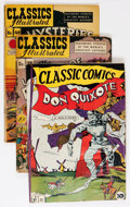 Golden Age (1938-1955):Classics Illustrated, Classic Comics/Classics Illustrated Group (1943-51) Condition:Average GD+.... (Total: 21 Comic Books)