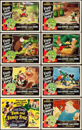 "Movie Posters:Animation, Fun and Fancy Free (RKO, 1947). Lobby Card Set of 8 (11"" X 14"")..... (Total: 8 Items)"