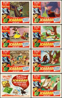 "The Adventures of Ichabod and Mr. Toad (RKO, 1949). Lobby Card Set of 8 (11"" X 14""). ... (Total: 8 Items)"