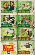 "Movie Posters:Animation, Song of the South (RKO, 1946). Lobby Card Set of 8 (11"" X 14"")..... (Total: 8 Items)"