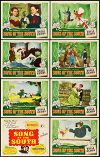 "Song of the South (RKO, 1946). Lobby Card Set of 8 (11"" X 14""). ... (Total: 8 Items)"